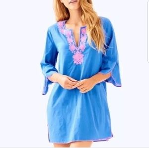Lilly Pulitzer Piet Cover up in Bennet Blue